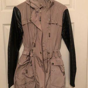 Betsy Johnson fashionable rain coat!